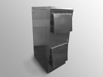 Armadio rack in acciaio inox IP55