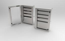 Casse INOX con telaio modulare