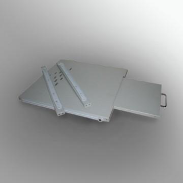 Cassetto estraibile porta tastiera e mouse per rack 19″