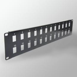 Pannelli di permutazione per rack 19″