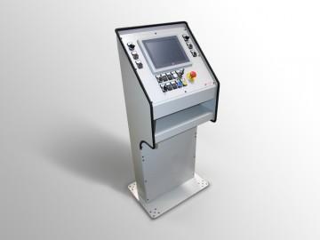 Consolle con pulsantiera per CNC