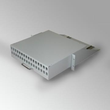 Cassetto porta centralino con fori keystone