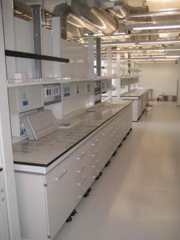 Arredamenti per laboratori