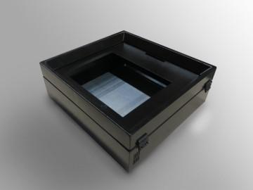 Quadro elettrico con porta concava