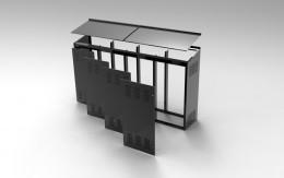 Armadi modulari per contenimento inverter