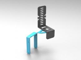 Supporto personalizzato per telecamere GoPro o Nilox