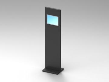 Totem multimediale personalizzabile
