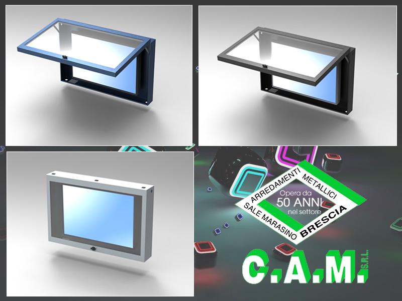 Enclosures porta monitor LCD