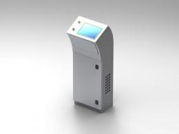 Quadro touch screen di comando per macchinari