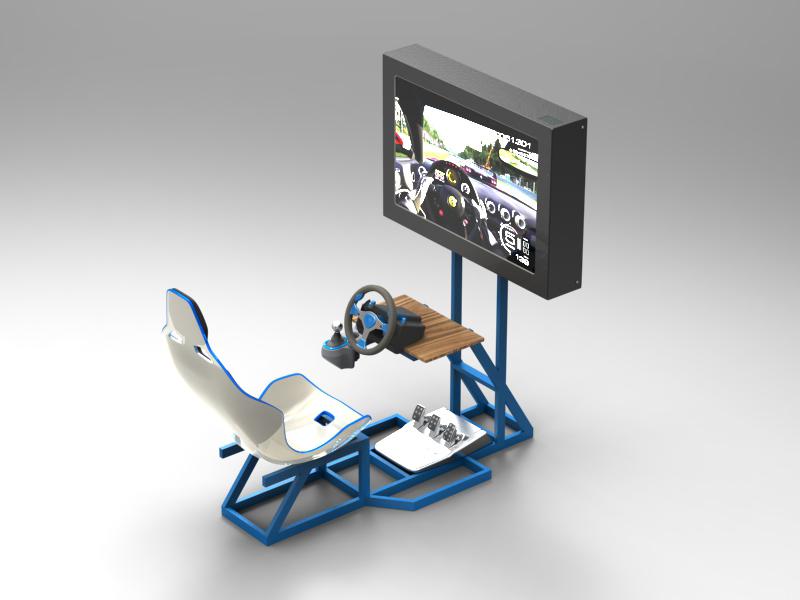 Consolle per simulatori