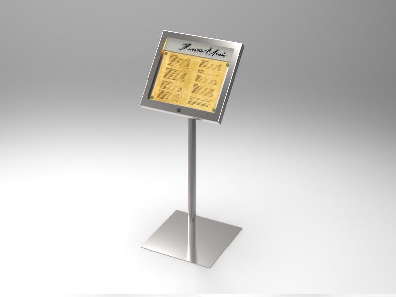 Leggio porta menu A3