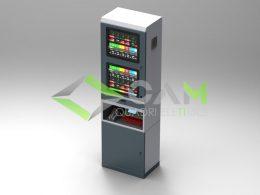 Armadio consolle CNC