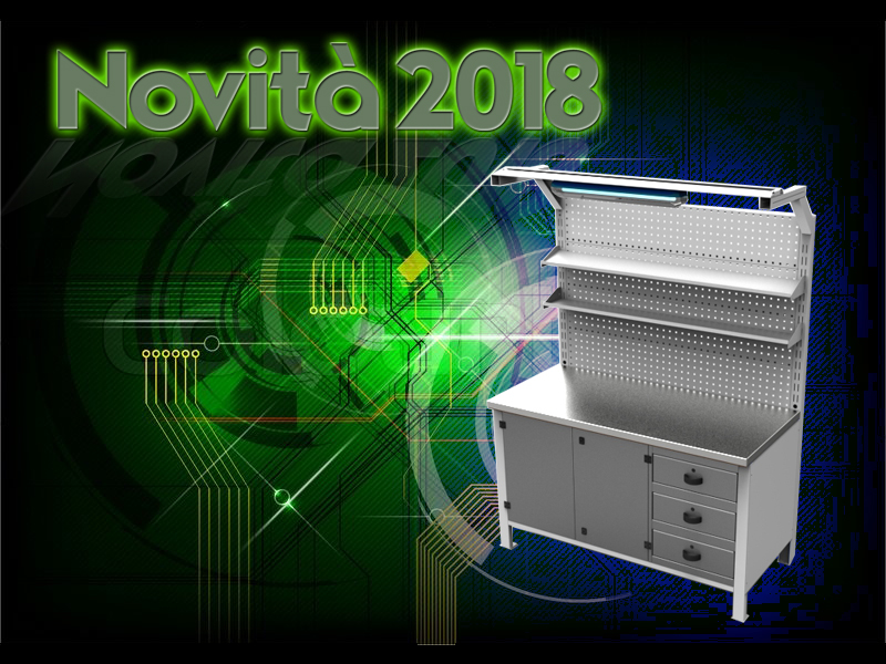 Novità 2018 – Nuova linea Banchi per elettronica