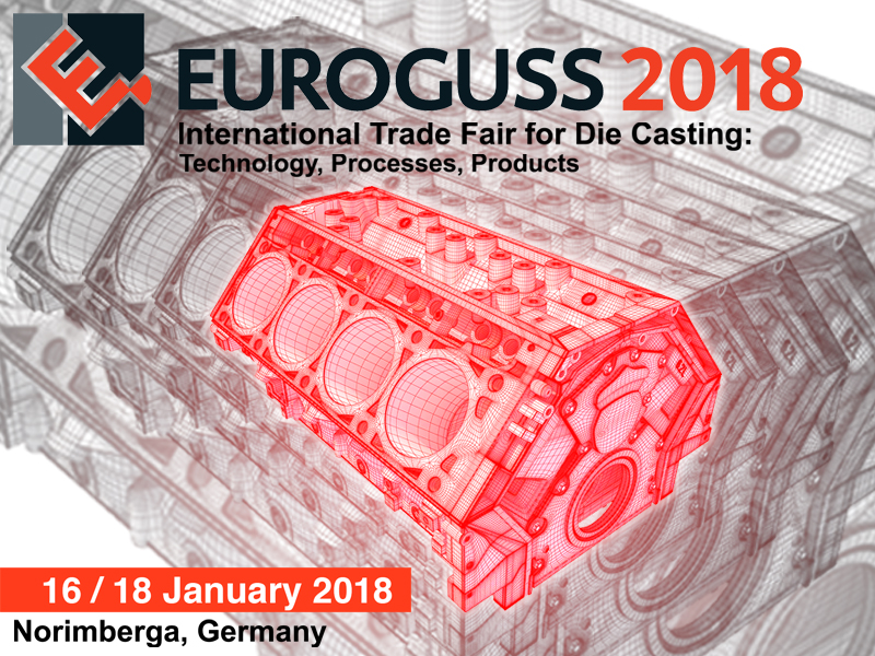 EUROGUSS 2017 – International trade fair for die casting