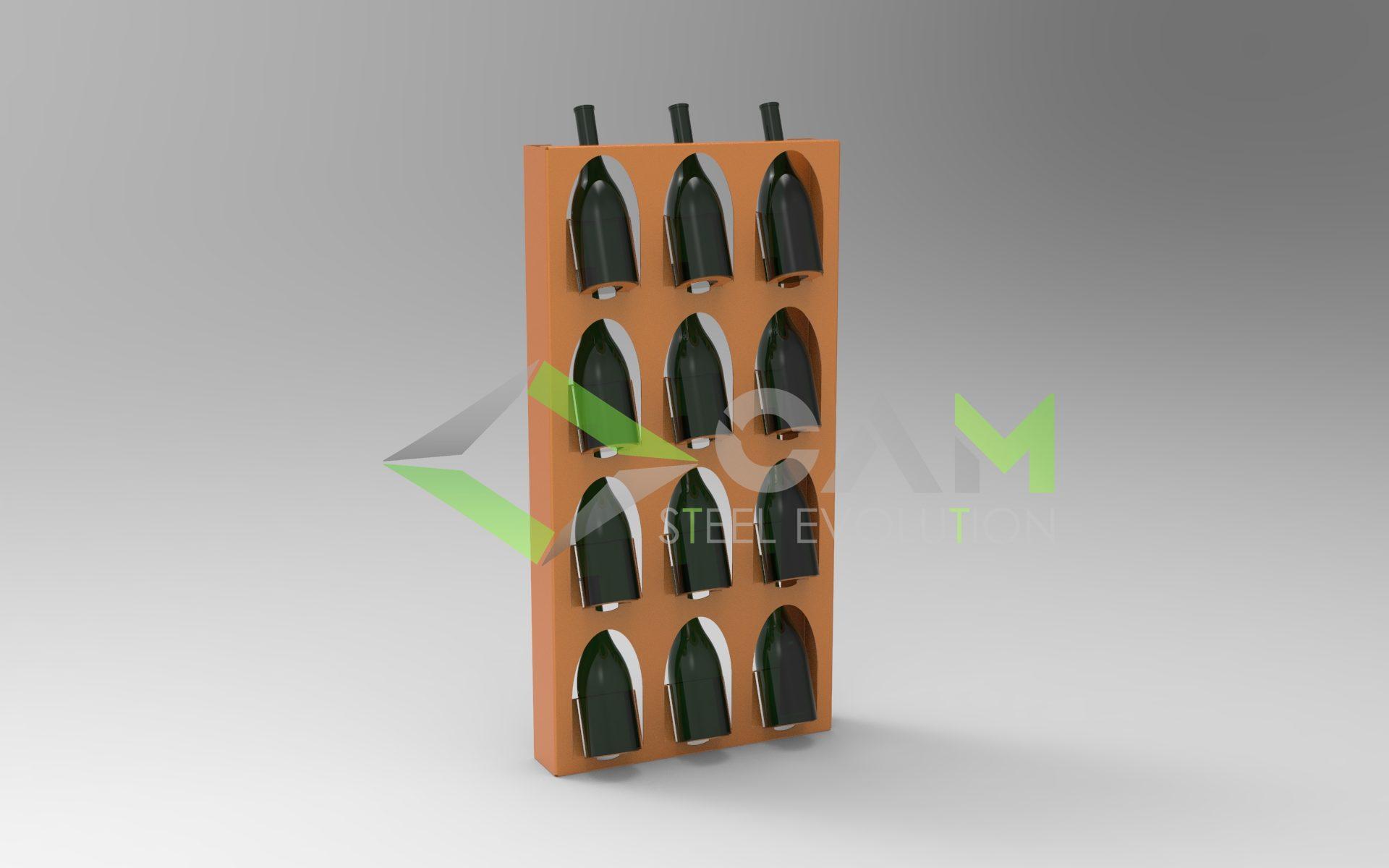 Porta bottiglie modello MODULA