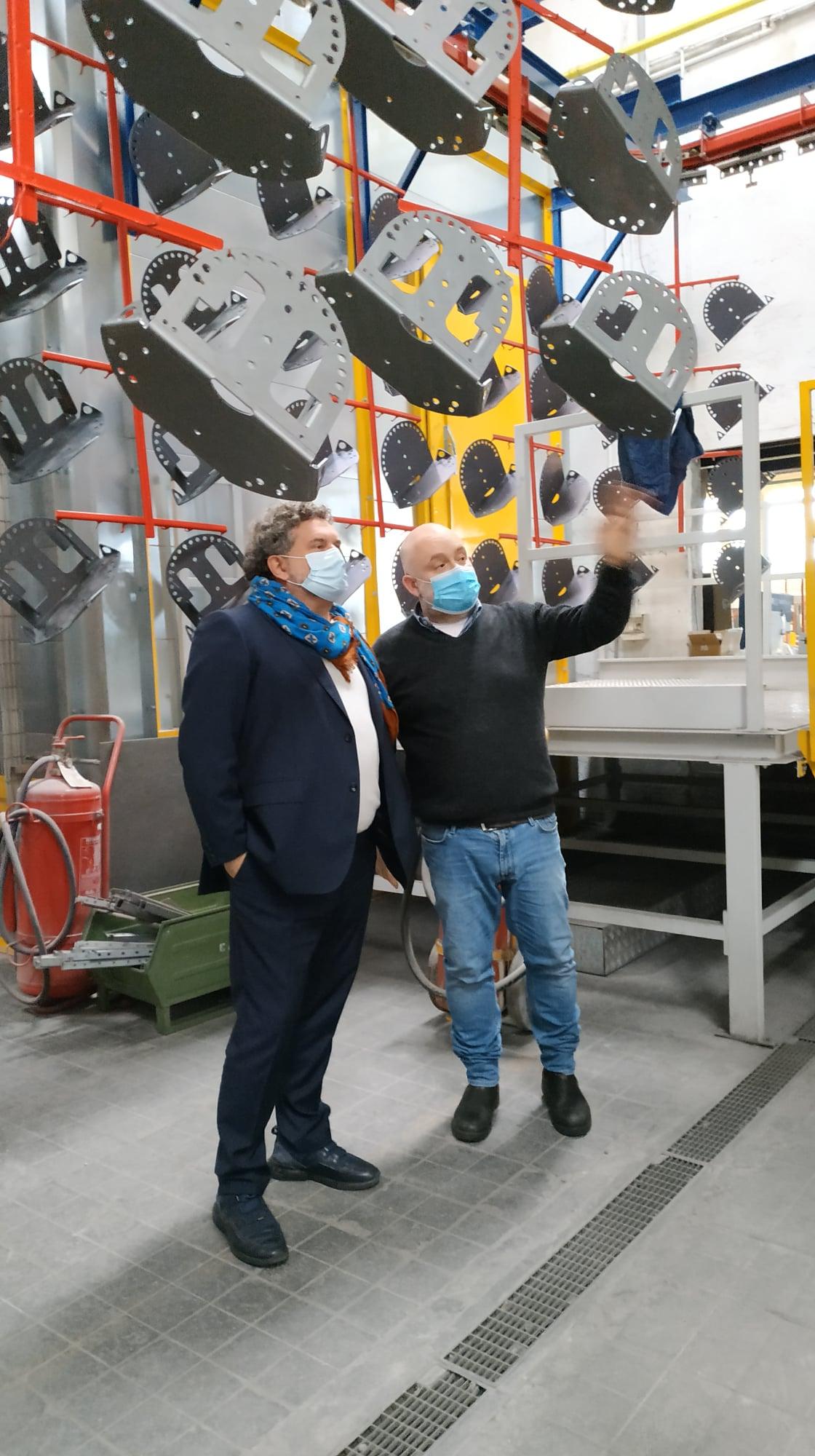 L'Assessore allo sviluppo economico di regione Lombardia fa visita a CAM