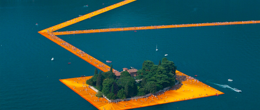 floating piers - eventi lago d'iseo