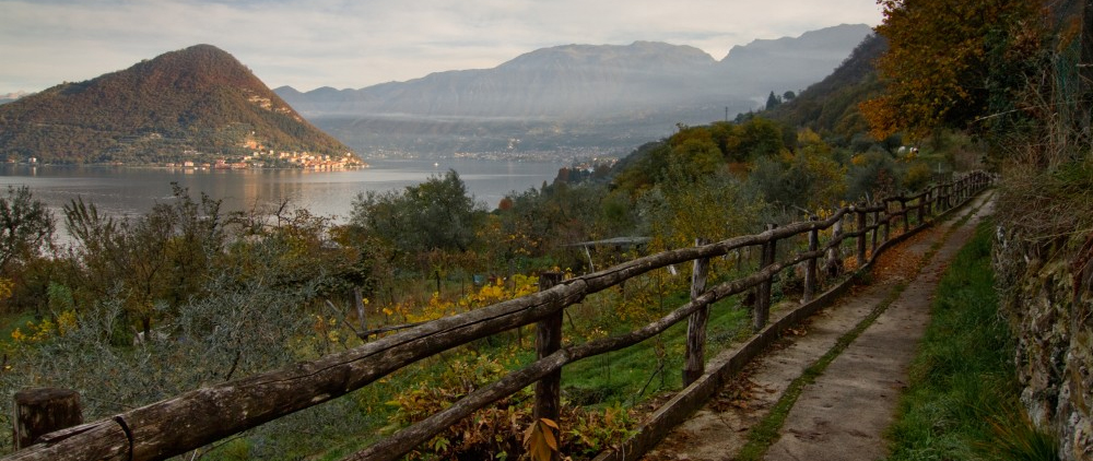 Via Veleriana Lago d'Iseo