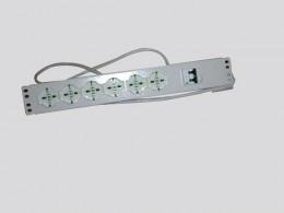 Barra di alimentazione a 6 prese con interruttore magnetotermico VR