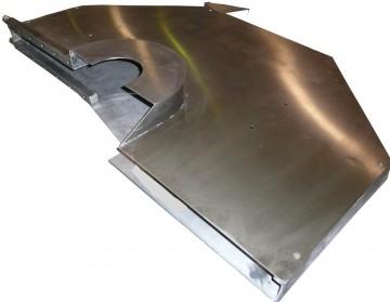 Protezione in acciaio inox