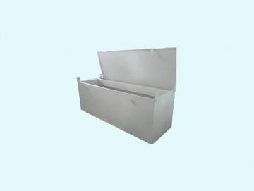Cassone porta attrezzi dimensione 2000  x 600 x 600 RAL 7035