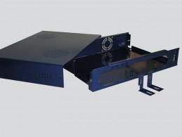 Case elettronica con asole raffreddamento