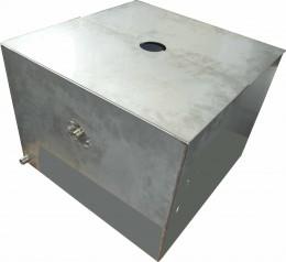 Serbatoio in acciaio inox a tenuta stagna
