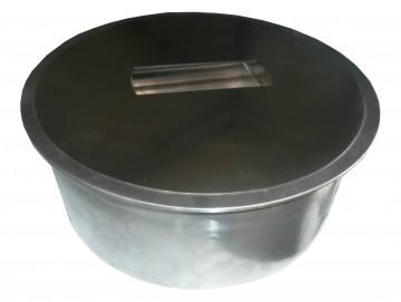 Coperchio INOX per pattumiere