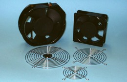 Ventilatori assiali e griglie metalliche