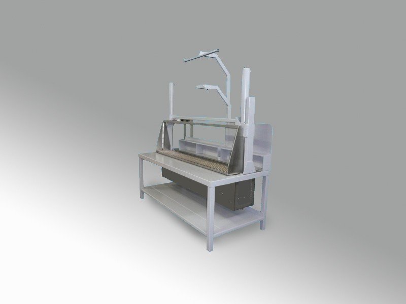 Banco Di Lavoro Per Laboratorio Chimico : Banco per laboratori con vasca lavaggio pezzi cam s r l