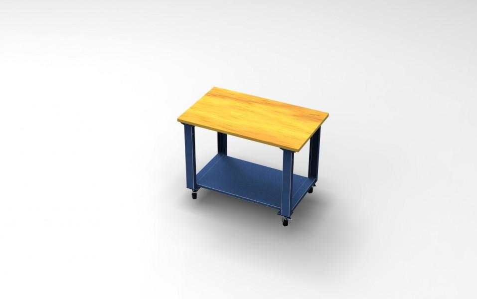Tavolo Di Lavoro English : Tavolo di lavoro con piano in legno cam s.r.l. arredamenti per