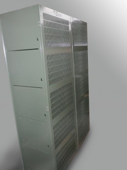 Armadio antiroditori verniciato RAL 6003 e RAL  7035