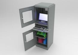 Armadio porta computer archives cam arredamenti - Porta computer a scomparsa ...