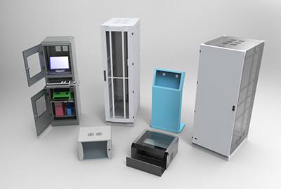 arredamenti metallici e strutture per quadri elettrici
