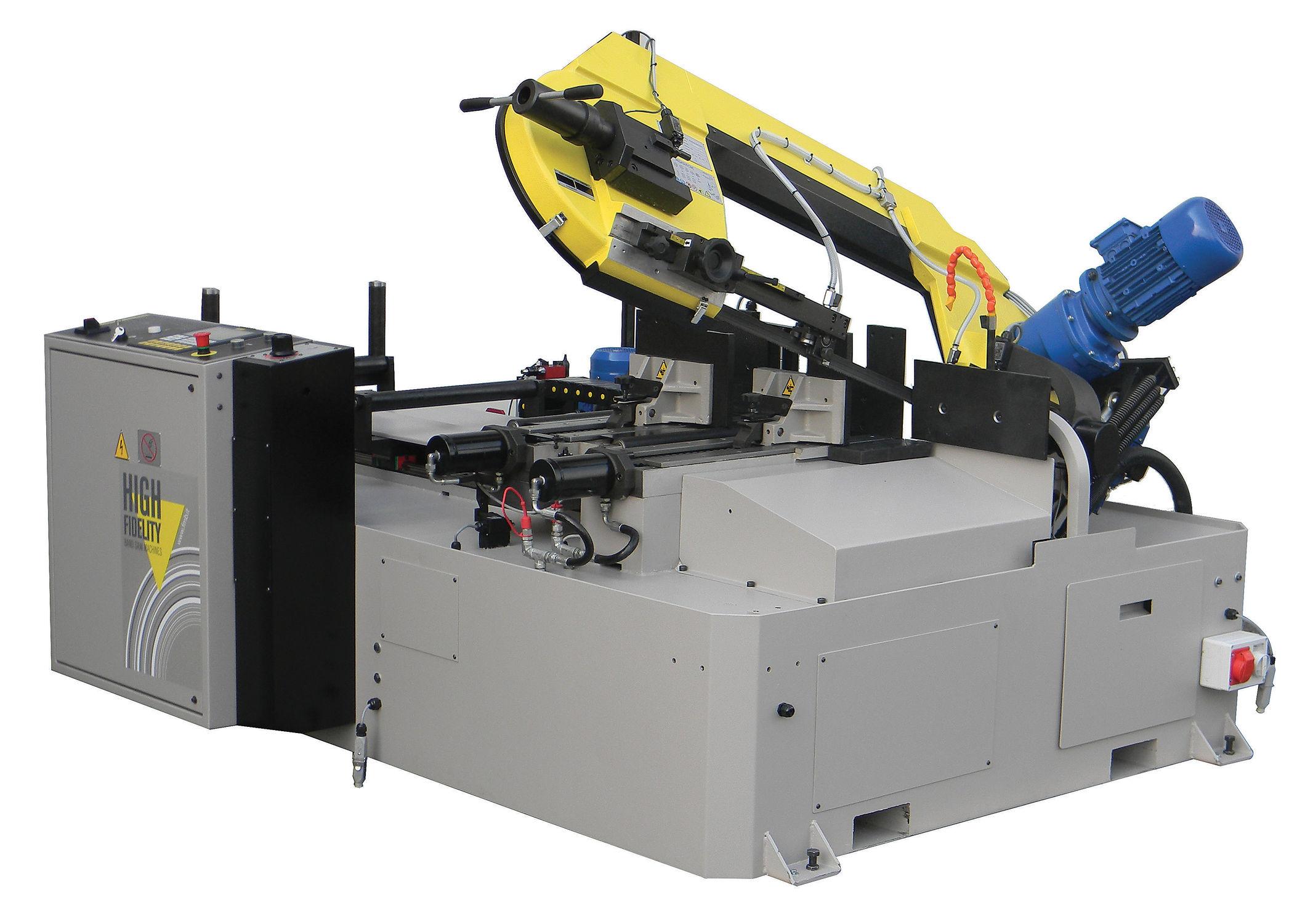 CNC automatic horizontal band saw