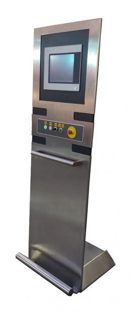 Console per macchinari legno, marmo, plastica e metallo