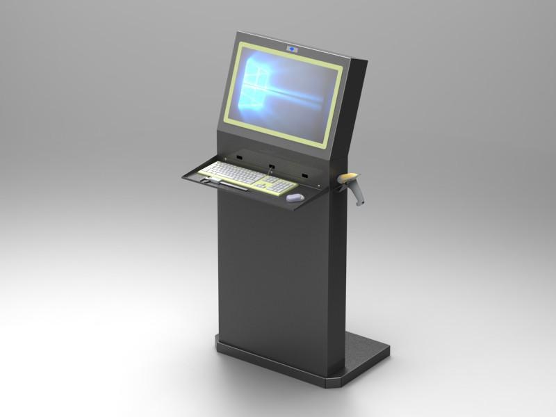 Console porta computer cam arredamenti metallici - Consolle porta pc ...