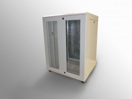 BOX a pavimento doppia anta vetro