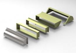 Estrattore d'aria in ferro tagliato al laser