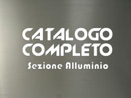 Catalogo completo sezione alluminio