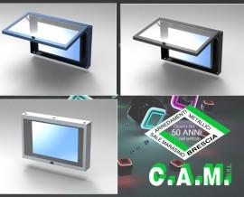 <BR>Enclosures porta monitor LCD
