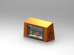 Porta display per controllo produzione