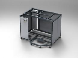 Telaio industriale per macchinari