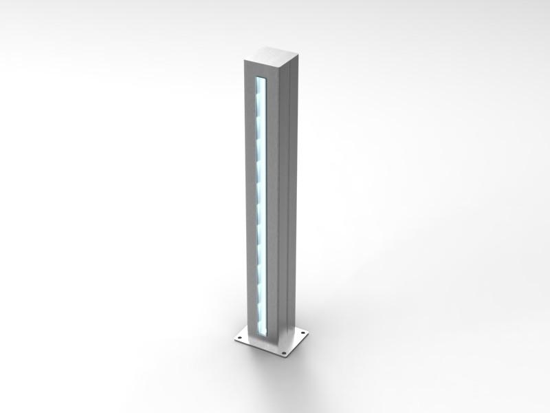 Paletti di illuminazione esterna led - CAM Arredamenti metallici