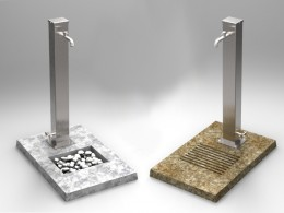 Fontanelle in acciaio inox