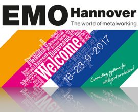 <br> EMO &#8211; Hannover Metalworking 2017