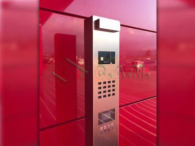Citofono Esterno Moderno : Videocitofono bticino carpi soliera u installazione impianto