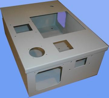 Cassetta customizzata al taglio laser cam srl for Arredamenti pizzerie al taglio