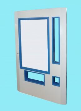 Porta blindata per distributori automatici