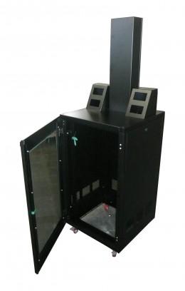 Struttura porta monitor per sale operatorie